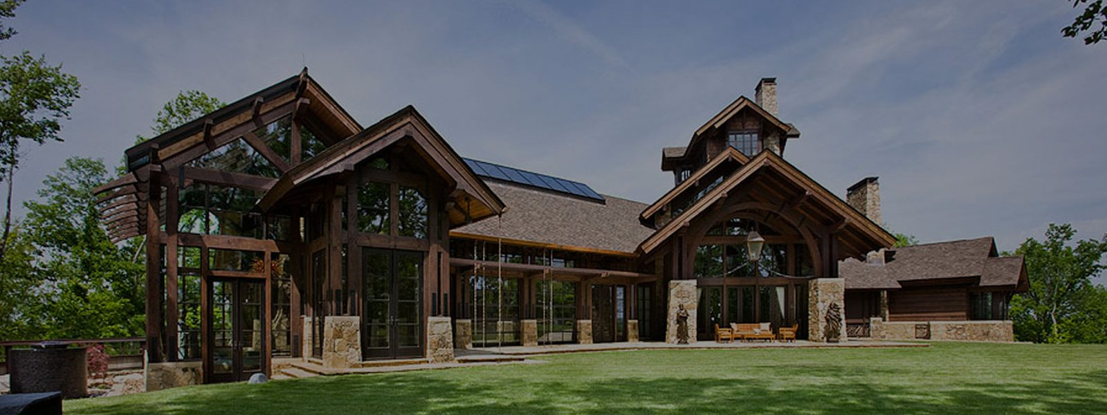 tennessee log homes timber trusses beams pioneer log systems. Black Bedroom Furniture Sets. Home Design Ideas